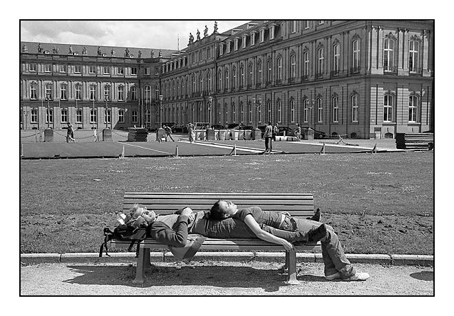 Der öffentliche Schlaf #6 - Stuttgart 2006
