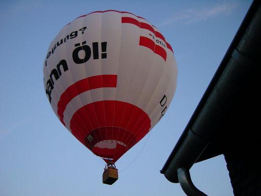 Der Öl-Ballon