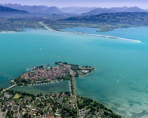 Der östliche Bodensee
