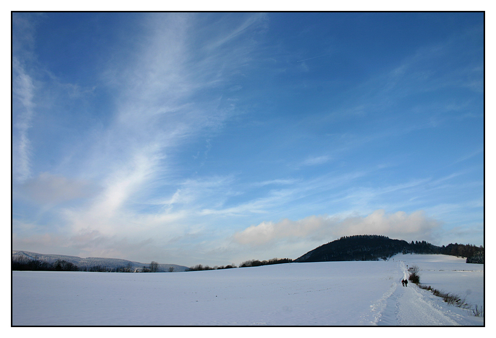 Der Orenberg im Winter
