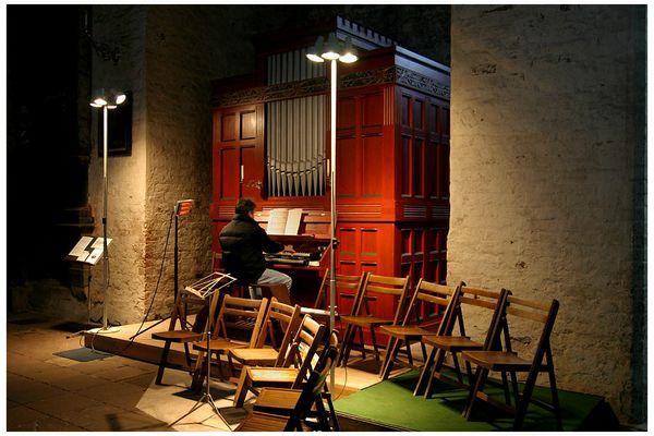 Der Orgelspieler
