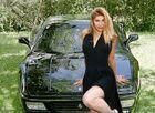 Der Original-Hintergrund war ein Ford Sierra (würg)