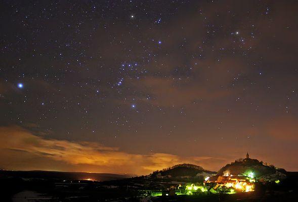 Der Orion und die Leuchtenburg