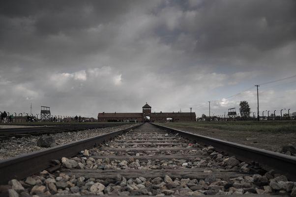 Der Ort des Grauens - Auschwitz/Birkenau...