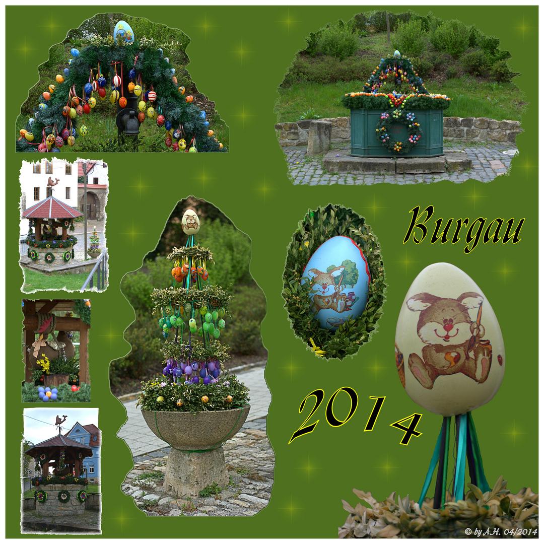 Der Osterbrunnen...