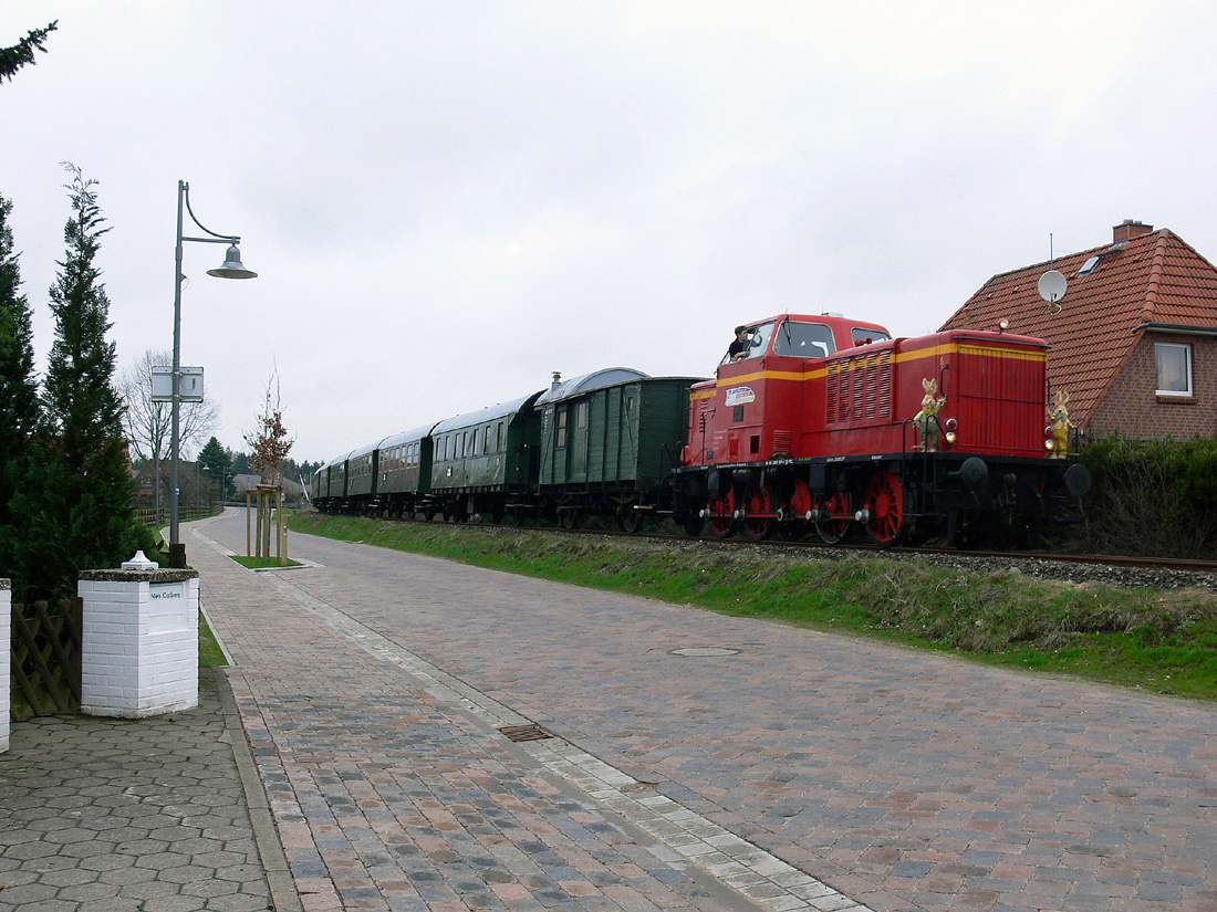 Der Ostereier-such-Zug ;-)