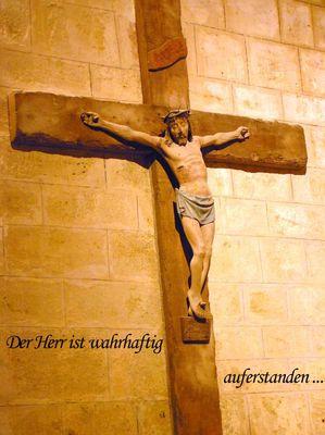 der Ostergruß der Christen ...