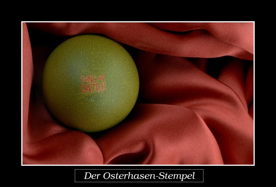 Der Osterhasen-Stempel