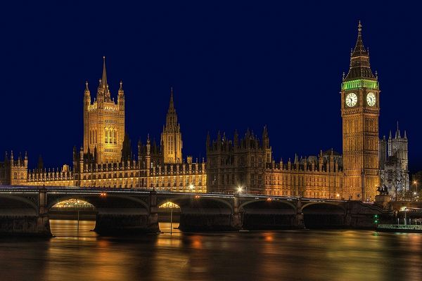 Der Palace of Westminster (London)