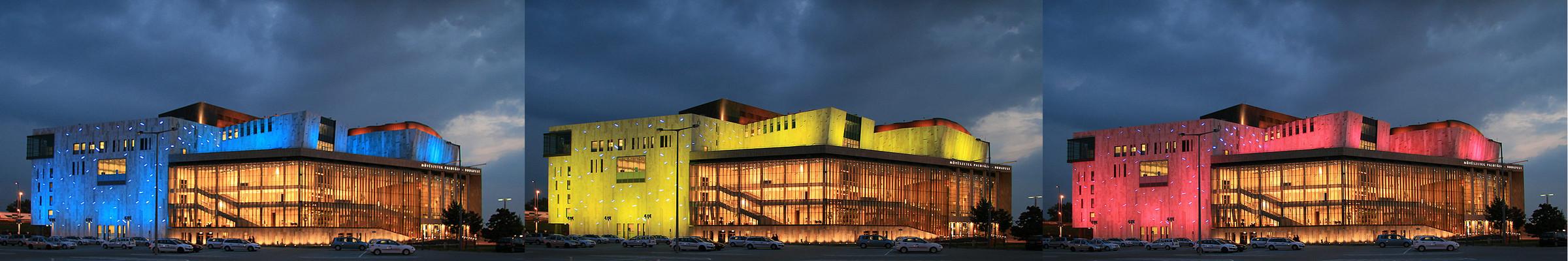 Der Palast der schönen Künste in Budapest