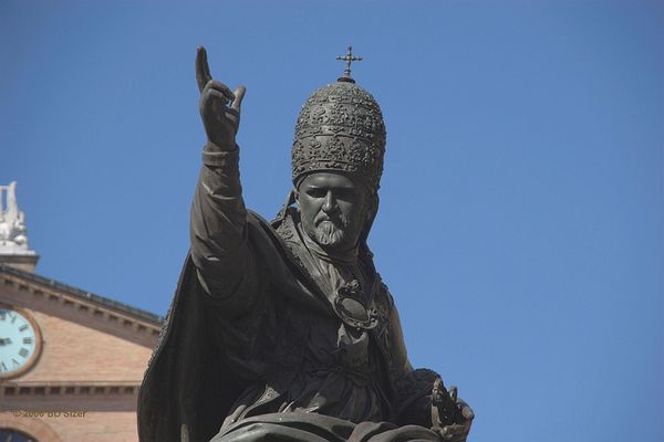 Der Papst in Rimini