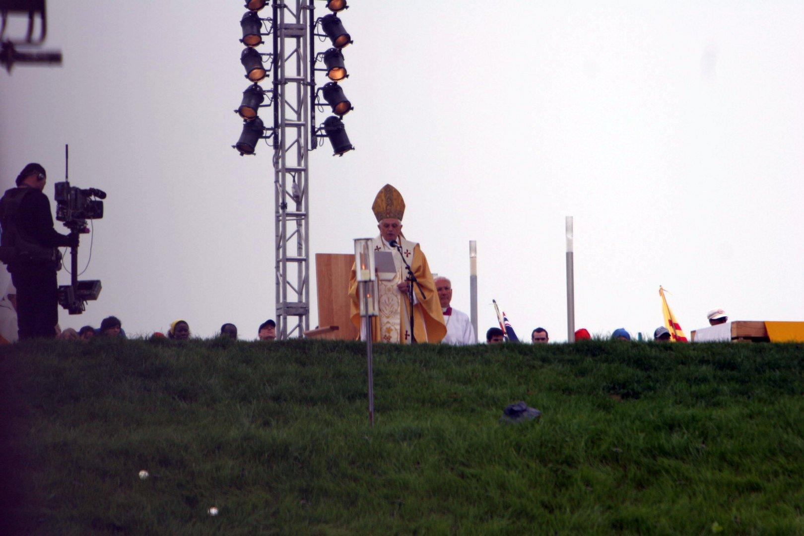 Der Papst Marienfeld Horrem 21.08.2005