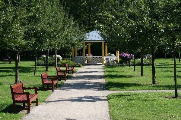 Der Park an meinem Schloss ( dort wo ich studiere)
