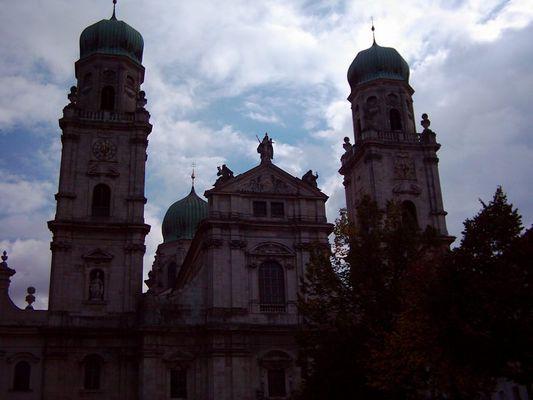 Der Passauer Dom, würd ich gern drin wohnen
