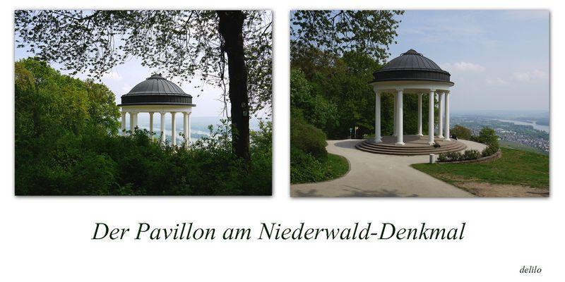 der Pavillon am Niederwald-Denkmal
