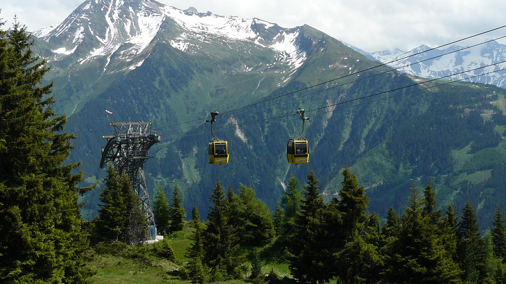 Der Penken, Zillertal, im Sommer