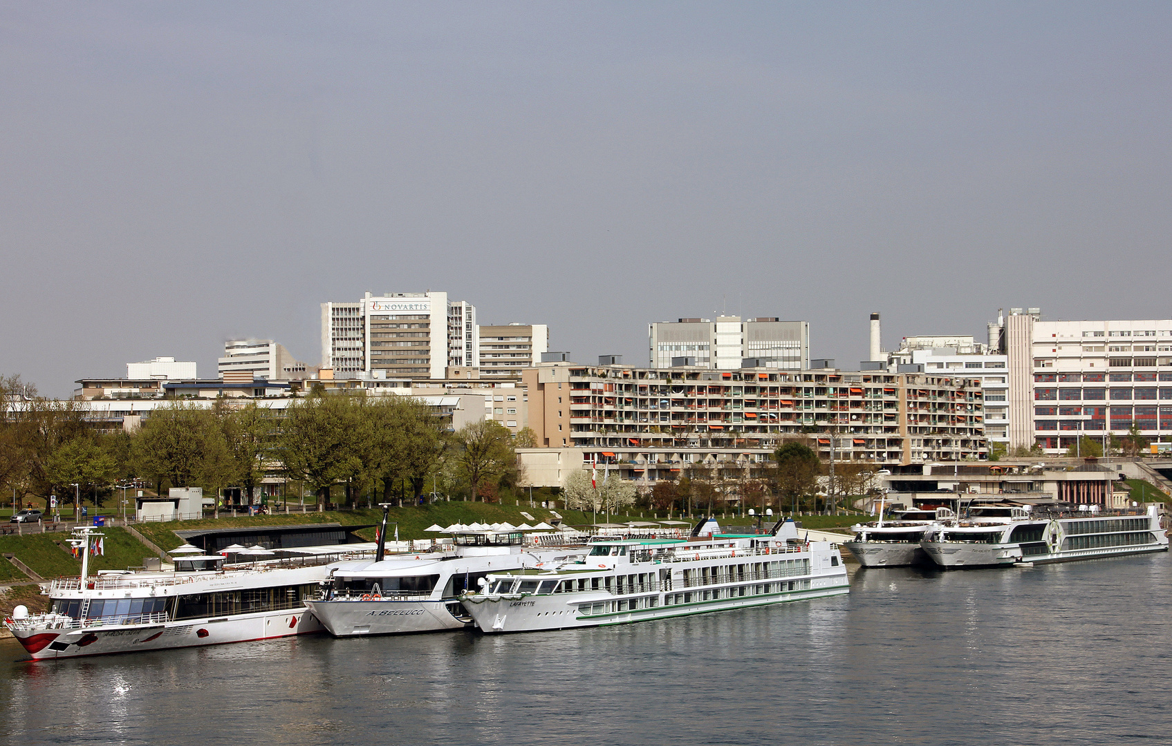 Der Personenhafen St. Johann in Basel