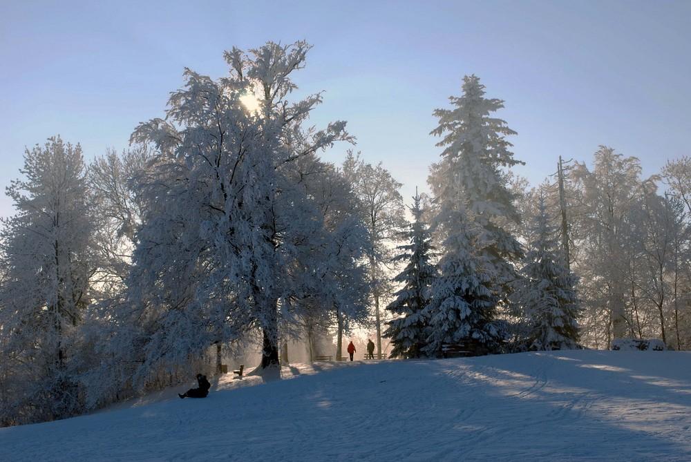 Der Pfannenstiel, auch im Winter ein Ausflugsziel!