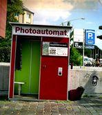 Der Photoautomat in der Nähe des Feldsterns