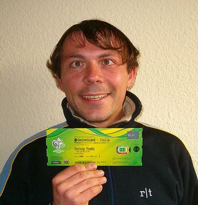 """Der Pierluigi wo er fährt zum """" Fersatsche FIFA WM 2006 """" Turnier Endspiel"""