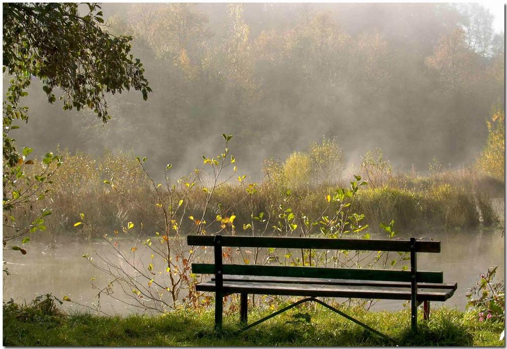 Der Platz am Teich