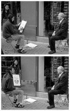 Der Portraitist und sein Modell
