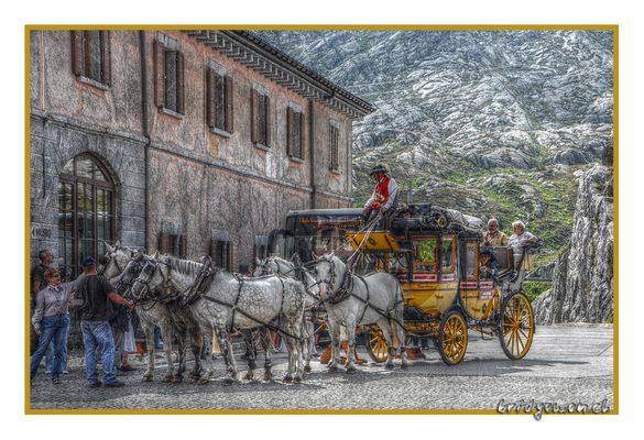 Der Postillion vom Gotthard