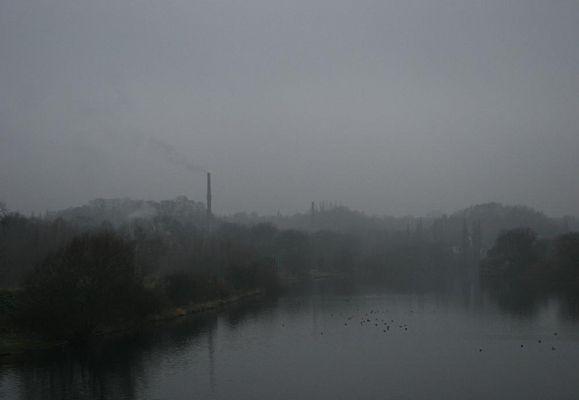Der Pott in Nebel :-)