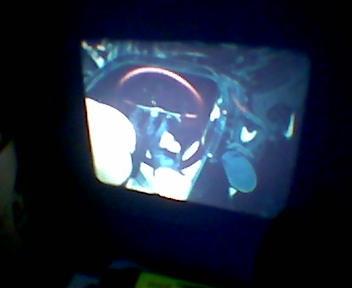 Der Projektor geht! :D