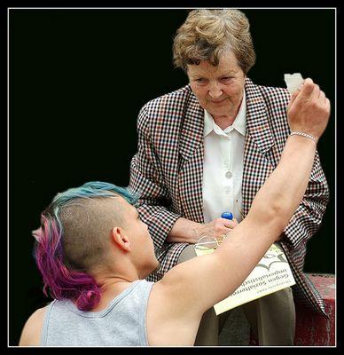 Der Punk und die Oma