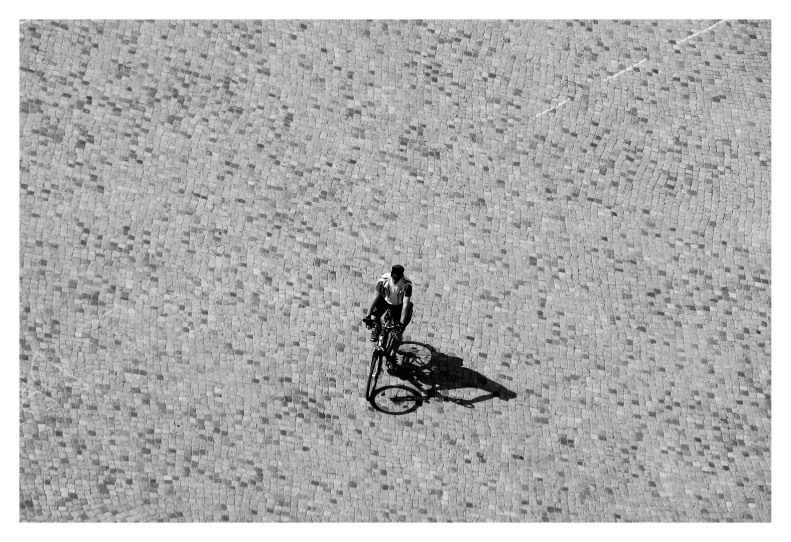 Der Radfahrer...