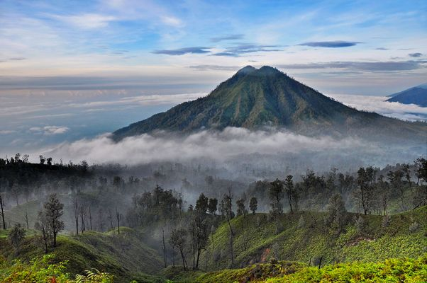 Der Ranti Vulkan