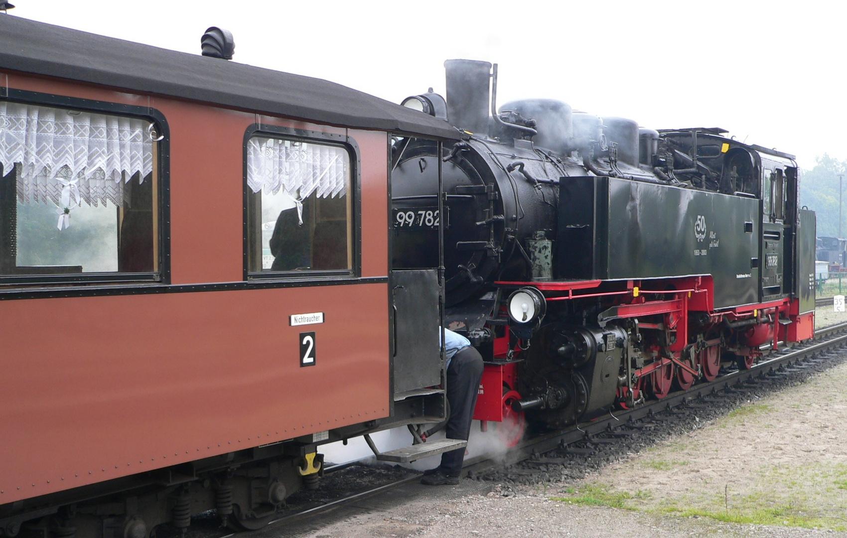 """der """"rasende Roland"""" auf Rügen"""
