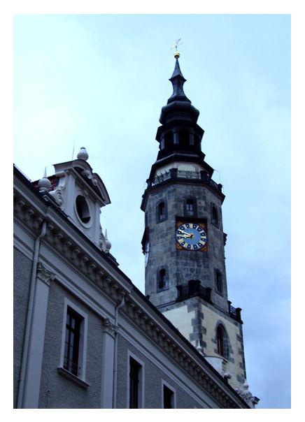 Der Rathausturm von Görlitz
