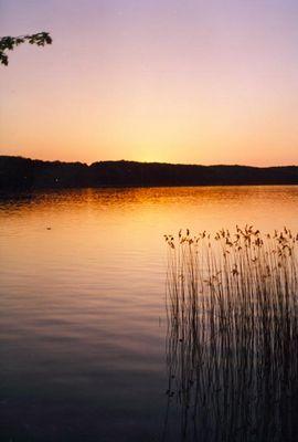 Der Ratzeburger See an einem Sommerabend