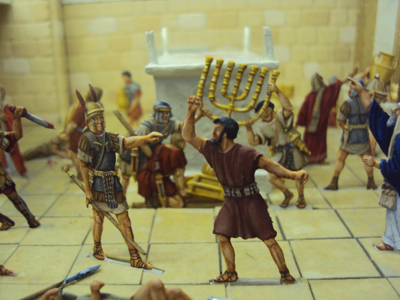 Der Raub des siebenarmigen Leuchters im Tempel von Jerusalem