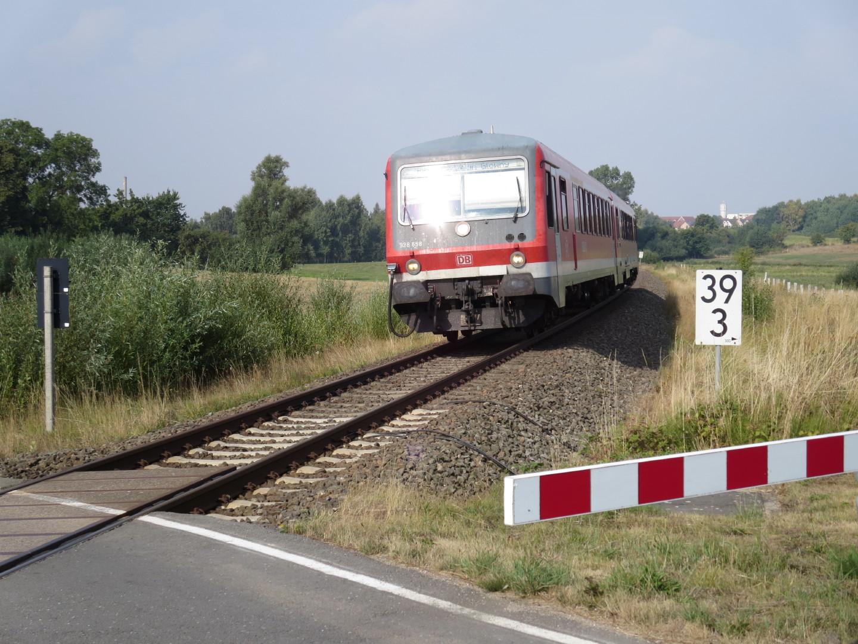 Der RE6 auf dem Weg nach Stettin