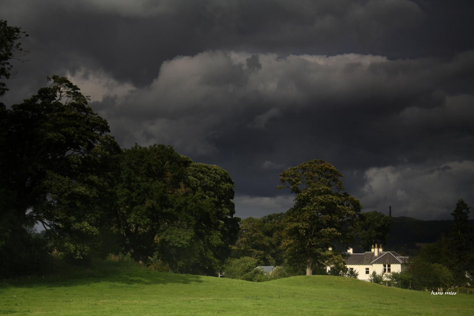 Der Regen kommt,das ist sicher (Schottland)