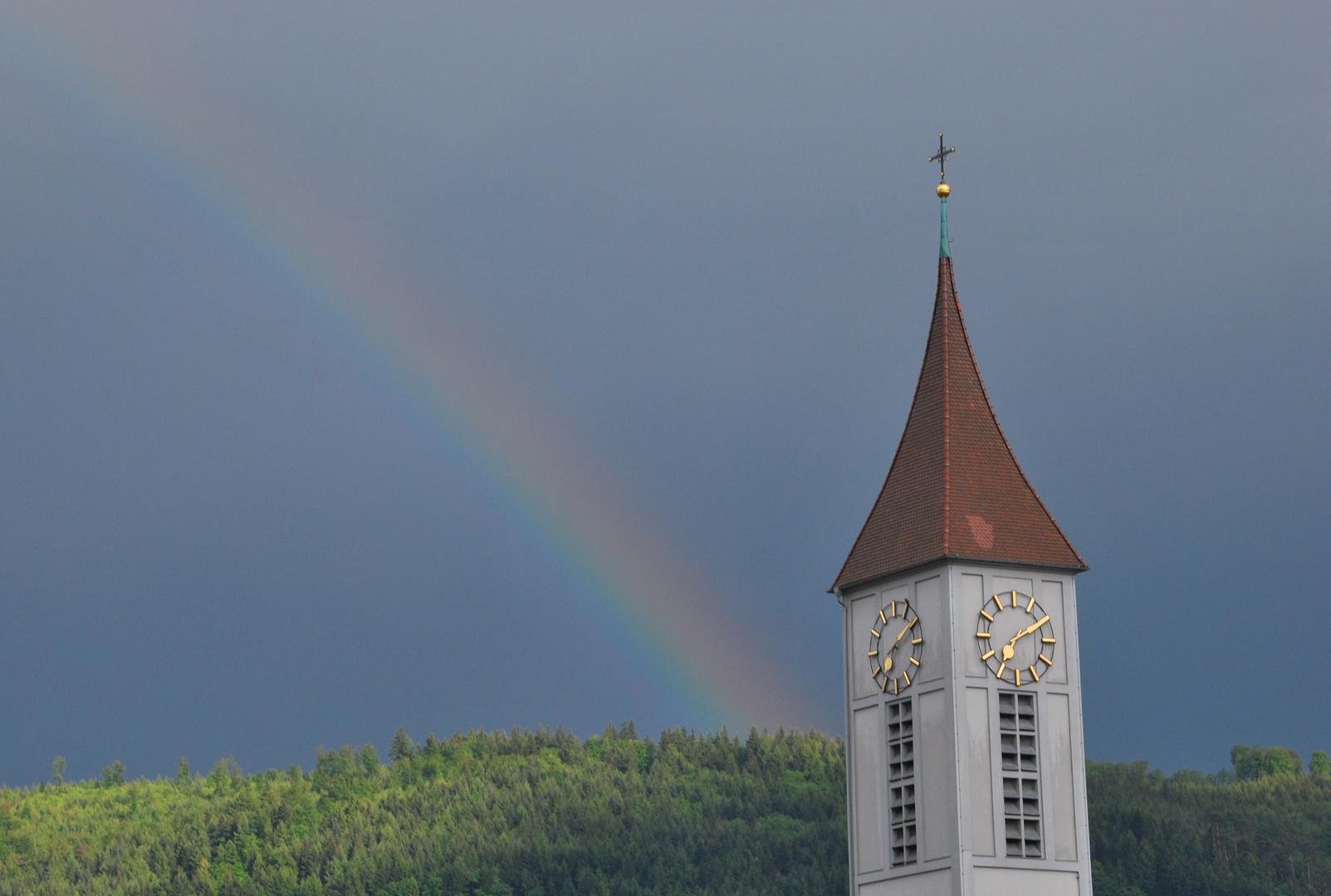 Der Regenbogen!