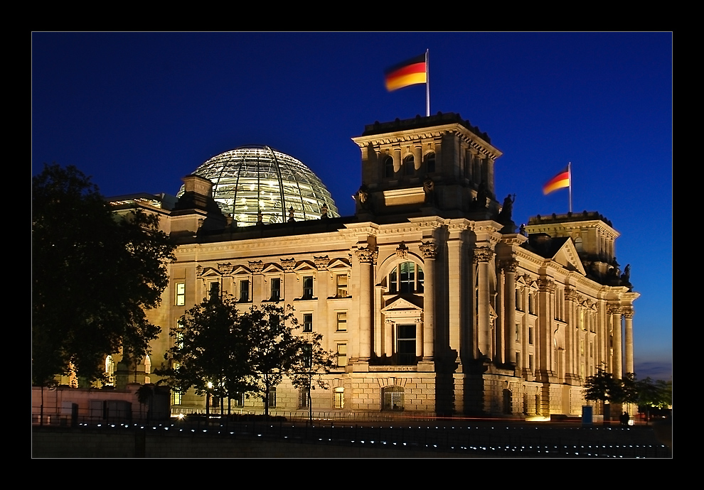 Der Reichstag in Berlin