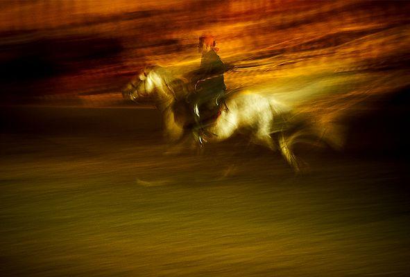 der Reiter...Marrakesh...