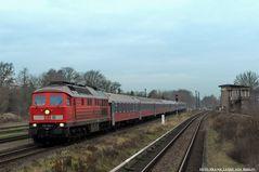 Der Rennrusse 234 292-1 mit D 245 Berlin - Moskau