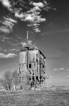 der rest einer Mühle