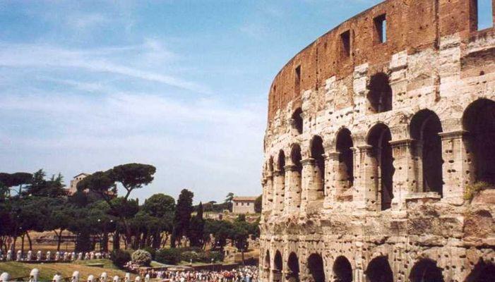 Der Rest vom Colosseum