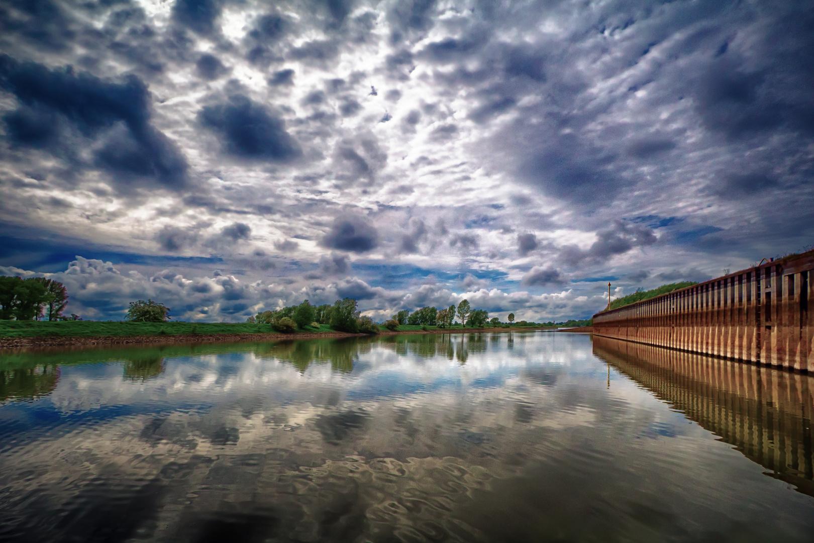 Der Rhein bei Emmerich
