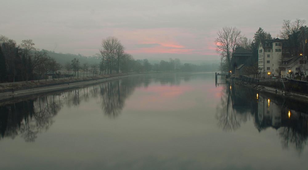 Der Rhein erwacht