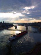 der Rhein in Basel