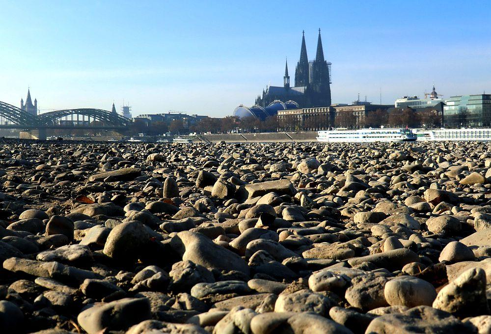 Der Rhein ist weg