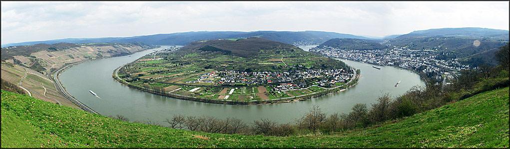 Der Rheinbogen bei Boppard