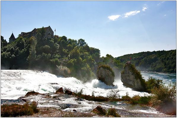 der Rheinfall von Schaffhausen